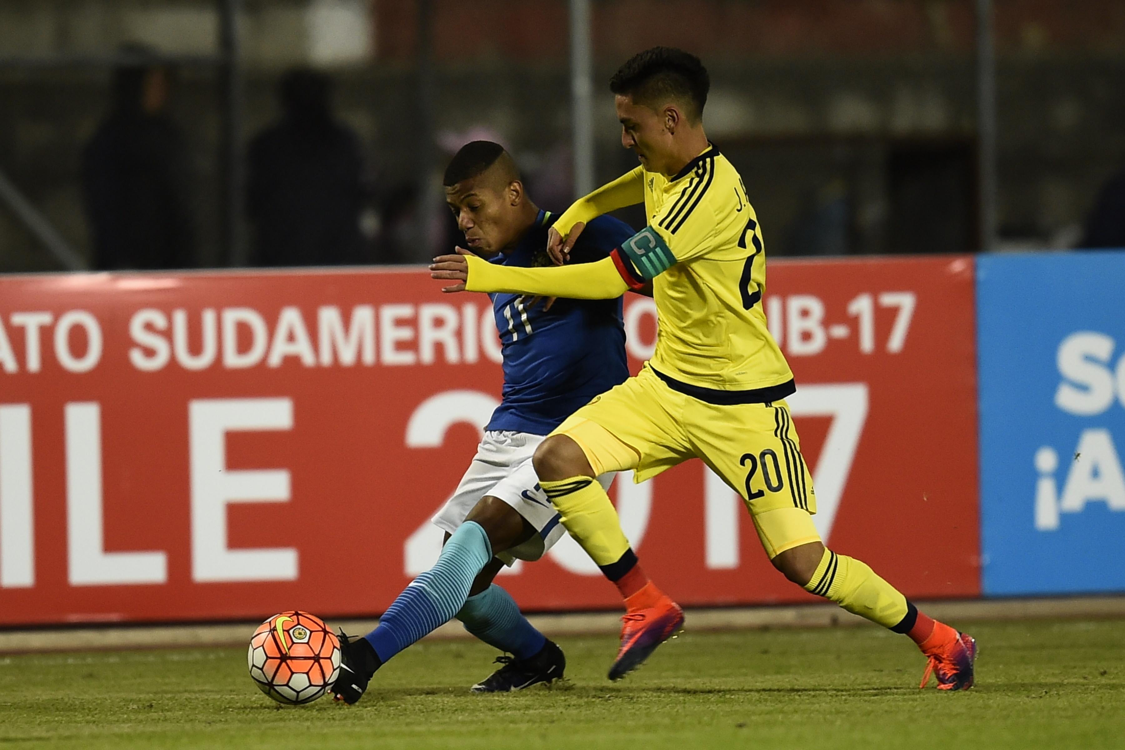David Neres Campos Brazil U20 Colombia U20