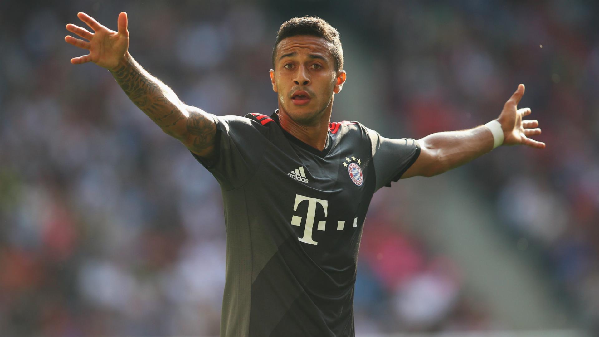 Thiago, Bayern Munchen, Bundesliga, 20160924