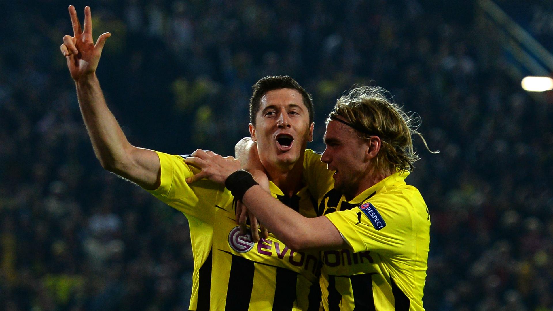 Lewandowski Schmelzer Borussia Dortmund - Real Madrid 04242013 Champions League