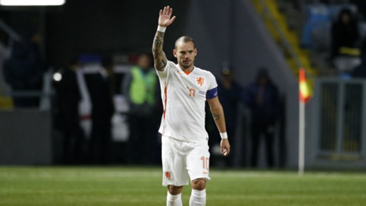 Sneijder Kazachstan Netherlands EC Qualifier 10102015