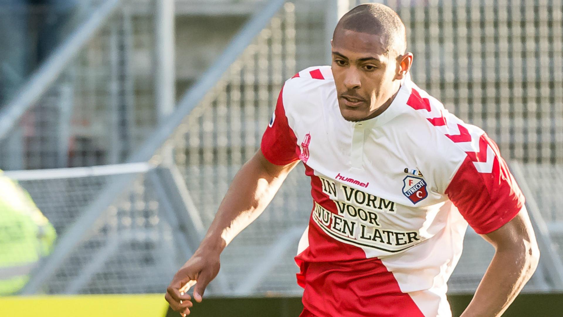 Sebastien Haller, FC Utrecht, Eredivisie, 20160420