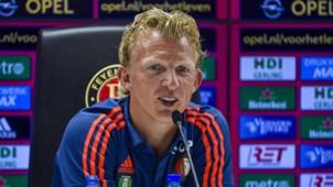 Dirk Kuyt Feyenoord presentation day 07192015