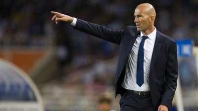 Zinedine Zidane, Real Madrid, Primera Division, 20160821