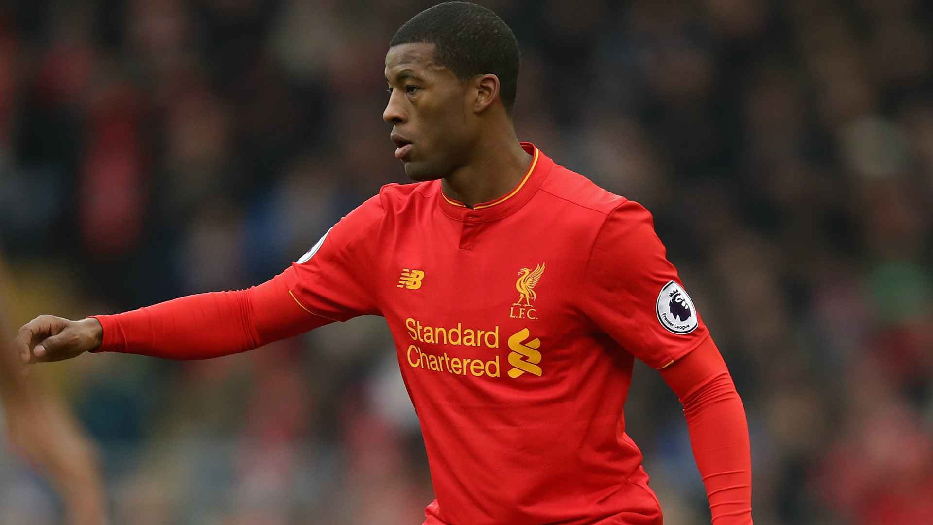 Georginio Wijnaldum, Liverpool, Premier League, 01212017