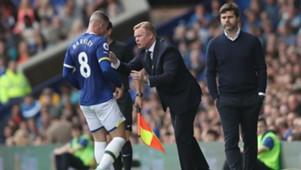 Ross Barkley, Ronald Koeman, Mauricio Pochettino, Everton, Tottenham Hotspur, Premier League, 20160813