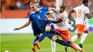 Aron Johannsson - Bruno Martins Indi, Netherlands - USA, 05062015
