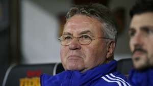 Hiddink praises China's physical improvements following win over Laos
