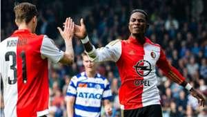 Eljero Elia, De Graafschap - Feyenoord, Eredivisie 04102015