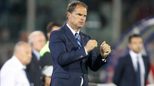Frank de Boer, Internazionale, Serie A, 20160911