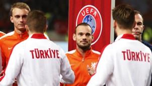 Wesley Sneijder Netherlands Turkey European Championship Qualifier 03282015