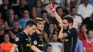 Koke Griezmann Saul PSV Atlético Madrid Champions League 09132016