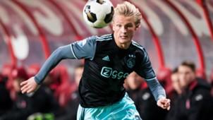 Kasper Dolberg, Ajax, Eredivisie, 12112016