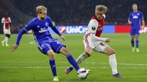 Nicolai Boilesen, Kasper Dolberg, Ajax - FC Kopenhagen, Europa League, 03162017