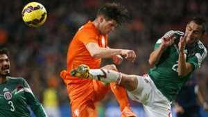 Klaas-Jan Huntelaar, Netherlands - Mexico, Friendly, 12112014
