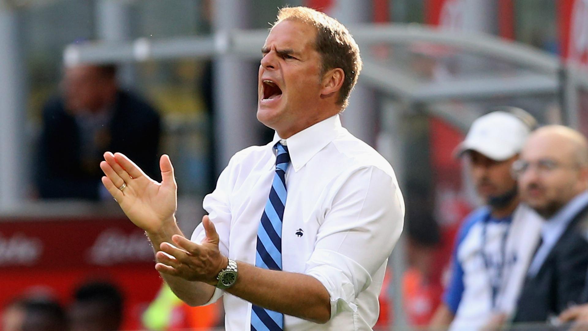 Frank de Boer, Internazionale, Serie A, 20160925