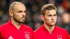 Heiko Westermann, Matthijs de Ligt, Ajax, 11242016