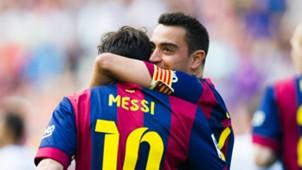 Lionel Messi Xavi Hernández Barcelona Primera División
