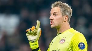 Remko Pasveer, Sparta Rotterdam - PSV, Eredivisie 221016