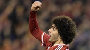 Marouane Fellaini Belgium Cyprus European Championship Qualifier 03282015