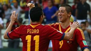 Pedro Rodriguez Fernando Torres Spain Italy Confederations Cup 2013