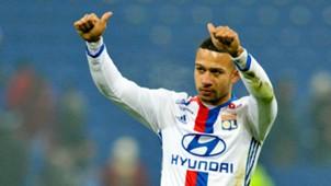 Memphis Depay, Lyon - Marseille, Ligue 1 01222017