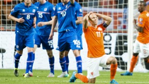 Arjen Robben Netherlands Iceland Euro Qualifier 09032015