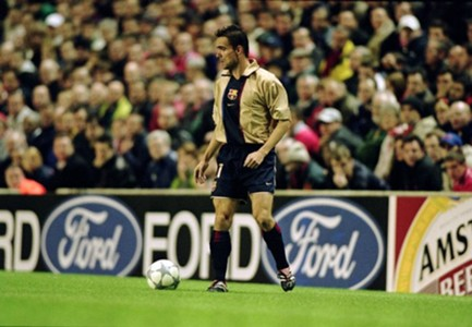 Marc Overmars Barcelona 2001