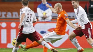 Netherlands Latvia Euro Qualifier 11162014