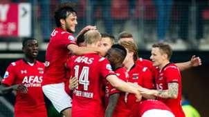 Van Overeem Van der Linden AZ Alkmaar Eredivisie