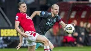 Ben Rienstra - Davy Klaassen, AZ - Ajax, Eredivisie 11062016