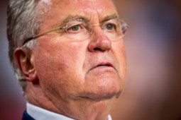 Guus Hiddink, Netherlands - United States, 05062015