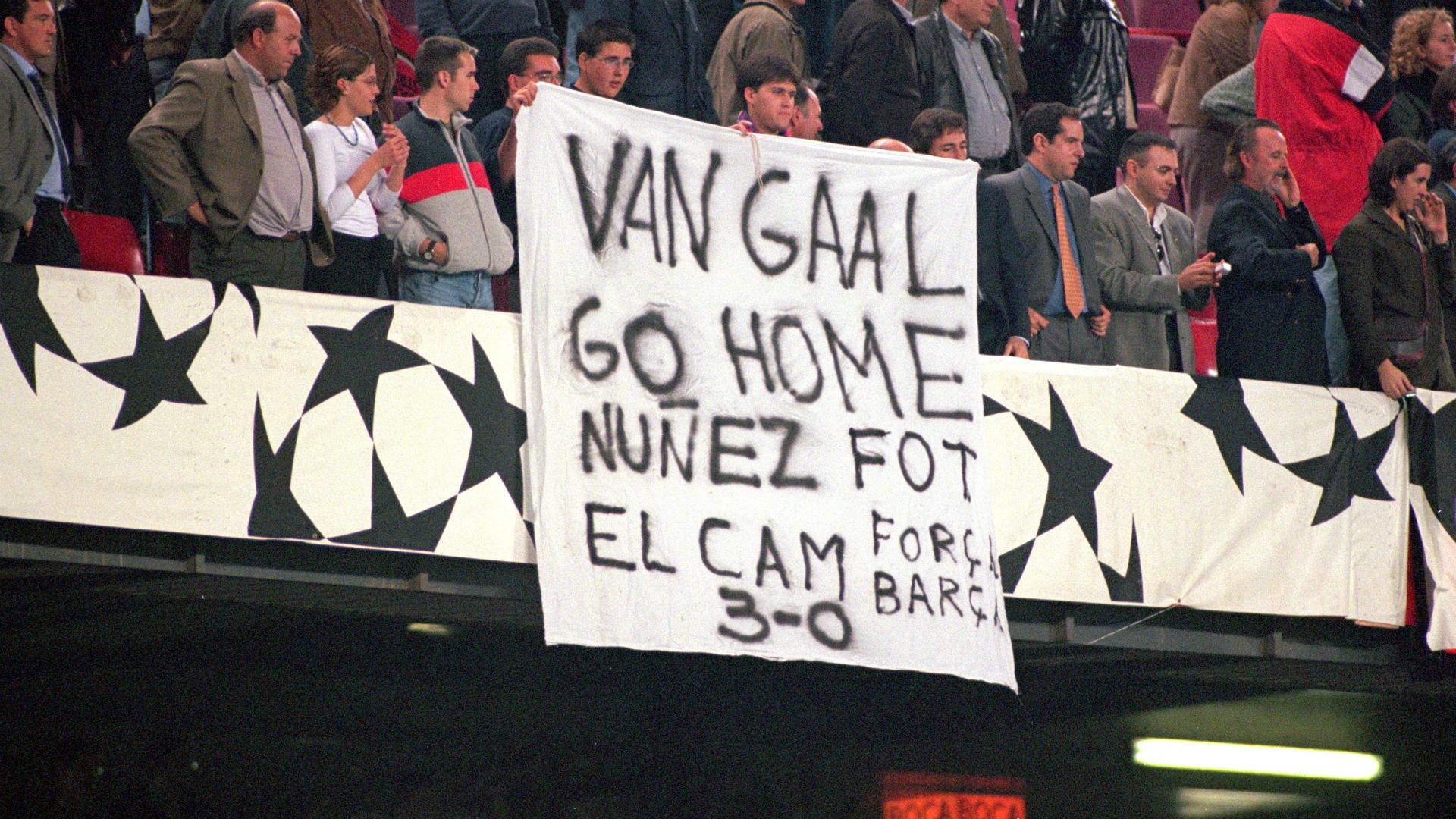 Louis van Gaal Barcelona 2000
