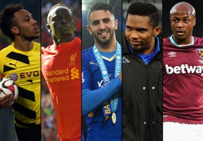 African Player of the Year Nominees