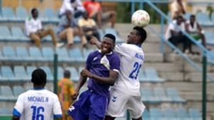 Alhaji Mohammed and Michael N - MFM vs El Kanemi Warriors