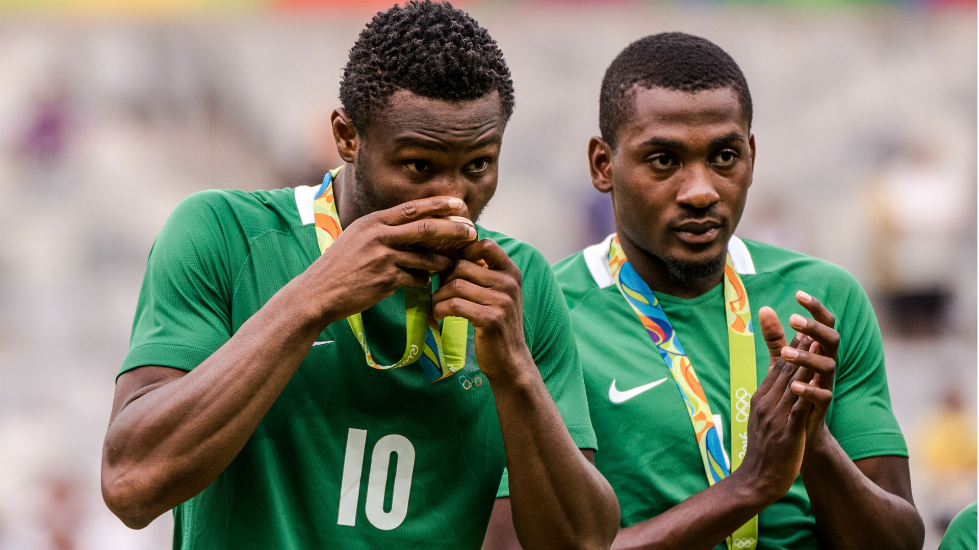 Mikel and Junior Ajayi