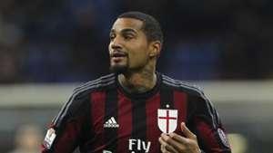 Kevin Prince Boateng of AC Milan