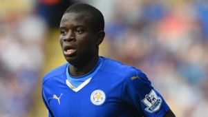 N'Golo Kante of Leicester City