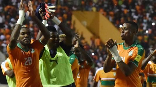 Serey Die, Jonathan Kodjia & Sayouba Mande of the Cote d'Ivoire