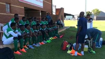 Nigeria Super Eagles in Pretoria camp ahead of CHAN
