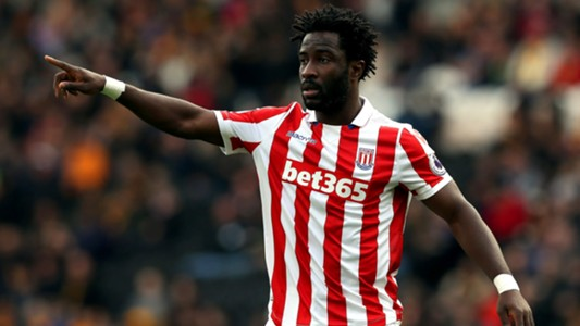 Wilfried Bony of Stoke City