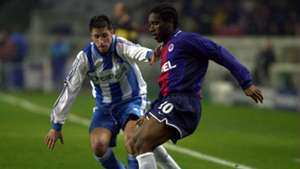 Jay-Jay Okocha of Paris Saint-Germain