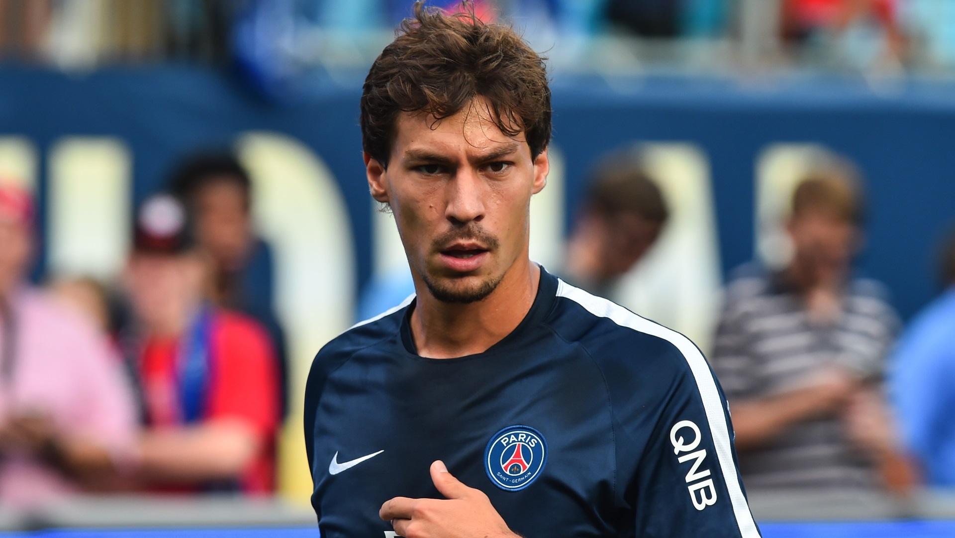 Benjamin Stambouli of Paris Saint-Germain