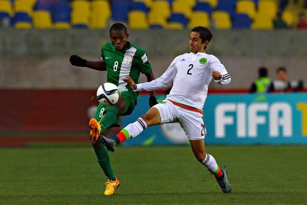 Samuel Chukwueze, Cortes - Mexico U17, Nigeria U17