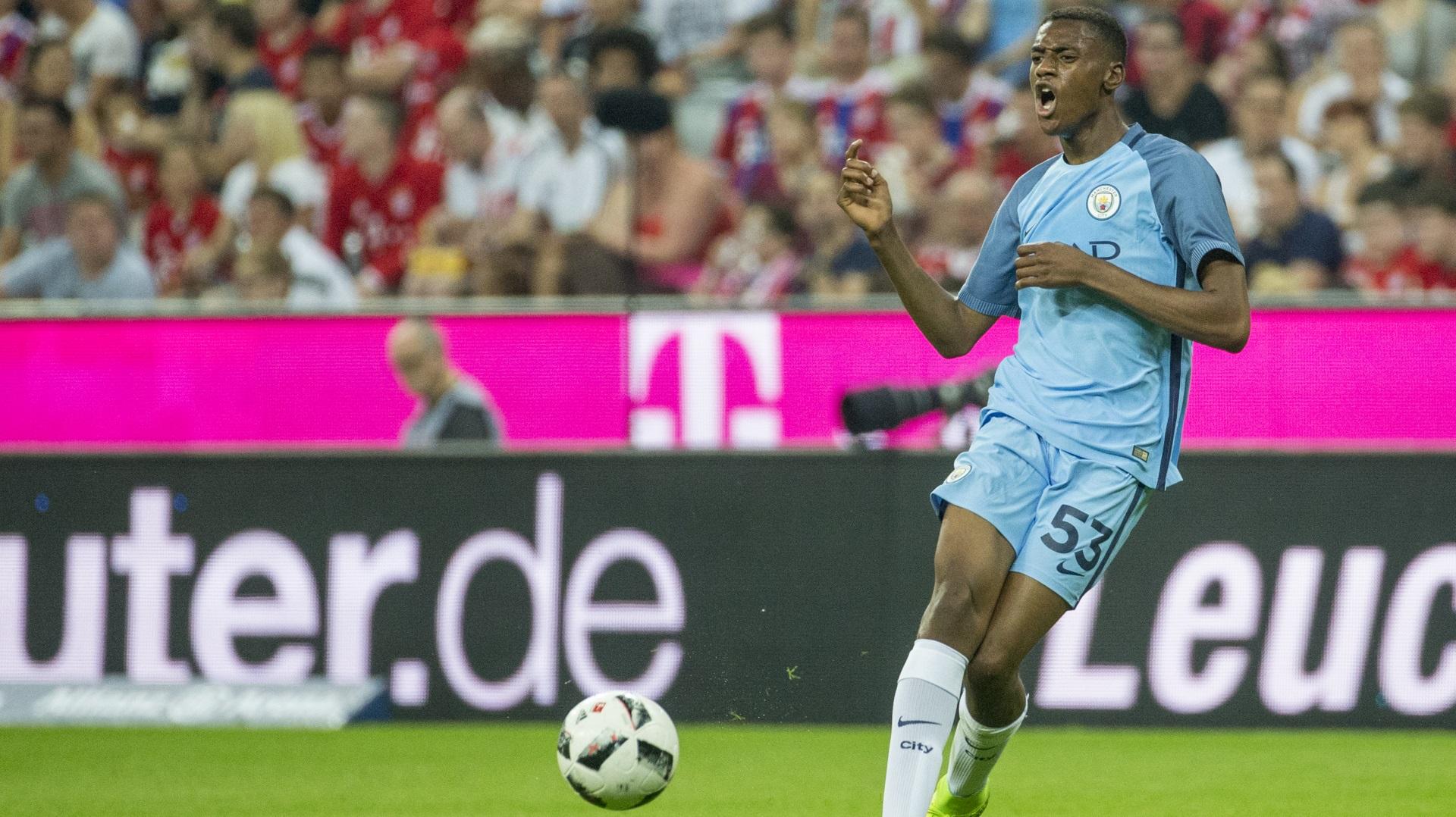 Tosin Adarabioyo of Manchester City
