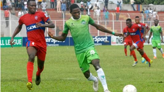 Abdulrahman Bashir,Nasarawa United, Shedrack Francis,Ikorodu United