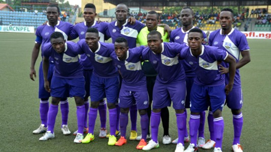MFM line up vs Enugu Rangers