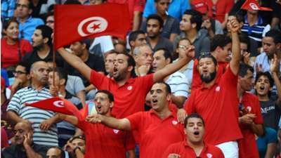 Tunisia fans