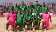 Nigeria beach soccer team