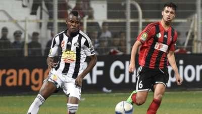 Aly Samatta of TP Mazembe vs. USM Alger