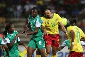 Nigeria women vs Cameroon women 25102014